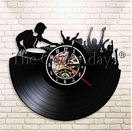 Yang Jingkai DJ Record Player Tocadiscos Vinilo Reloj de Pared ...