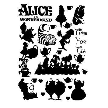Cartoon Alicia en el País de las Maravillas de Cheshire Cat ...