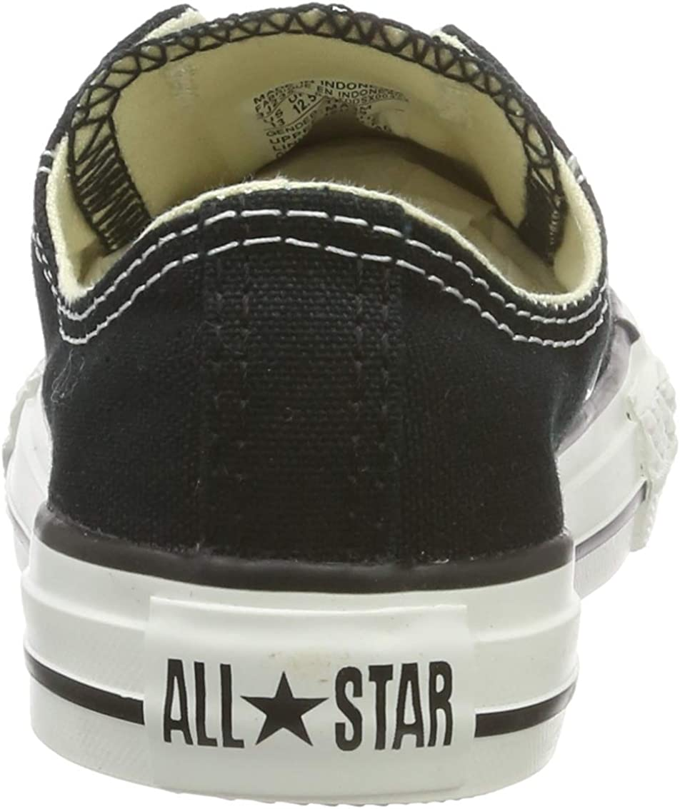 Converse Chuck Taylor All Star Wash Neon Ox, Baskets Mode Mixte Enfant Noir