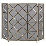 Uttermost Akiva Champagne Fireplace Screen Review