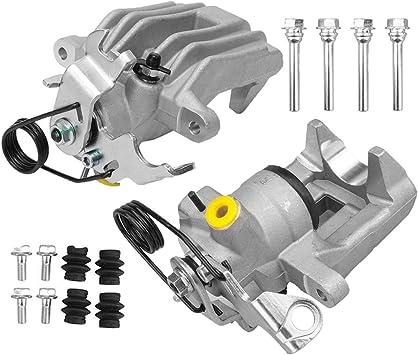 2x Bremsträger Bremssattelhalter Halter hinten links rechts für VW PASSAT 3B
