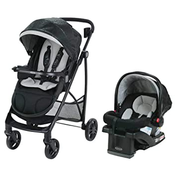 Stroller And Car Seat Ultra Lightweight Frankie Graco Views Travel System With SnugRide