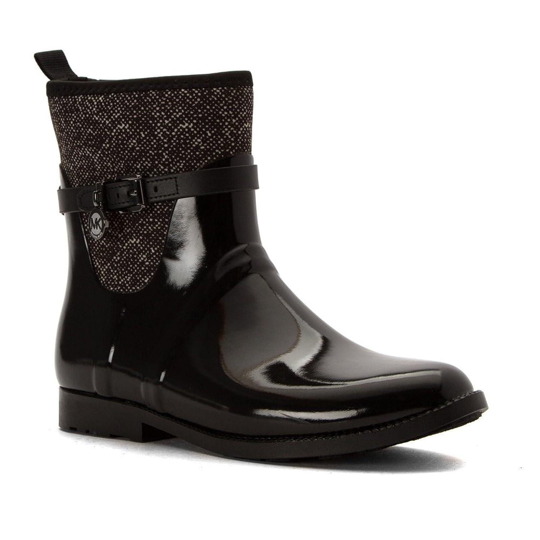 Retro Boots, Granny Boots, 70s Boots MICHAEL Michael Kors Womens Charm Stretch Rain Bootie Rain Boots $81.20 AT vintagedancer.com