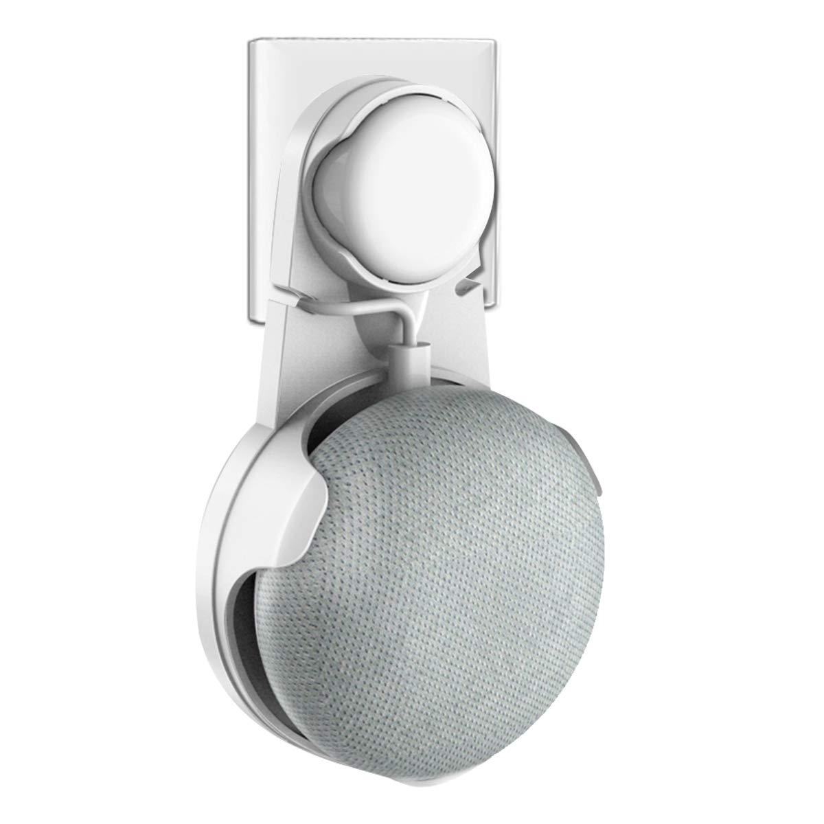 bd63fd653 Wigoo Soporte para Google Home Mini, solución para su Altavoz de Inicio  Inteligente sin Cables sucios o Pegatinas, Adecuado para Cocina, baño y  Dormitorio ...