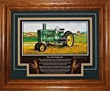 John Deere Model A Late-Styled 1947-1952 BO Tractor Pictures Wall Decor Art Gift for Dad