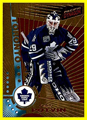 1997-98 Pacific Dynagon #122 Felix Potvin TORONTO MAPLE LEAFS