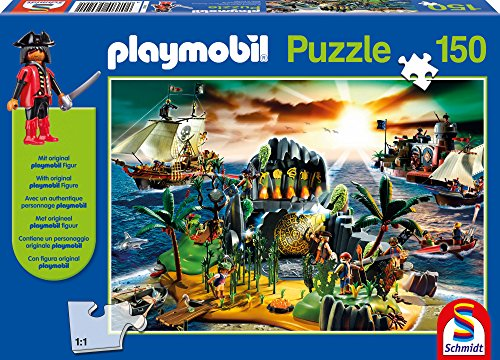 Pirate Island Playmobil Jigsaw Puzzle, - 150 Puzzle Piece