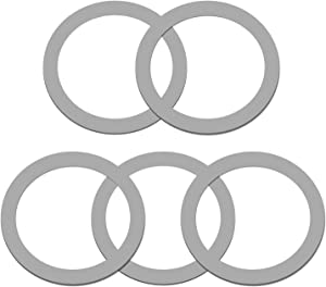 TiToeKi O-Gasket Rubber 5-Pack Blender Parts O-Ring Gasket Seal Compatible with Osterizer and Oster Blender Models