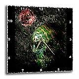 3dRose LLC Fear of The Dark Skull Gothic Gothica Dark Rock Music Fear Night Dark Darkness Darkart 10 by 10-Inch Wall Clock Review