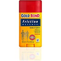 Gold Bond Chafing Defense Anti-Friction Formula, Unscented 1.75 oz (49.6 g) by Gold Bond