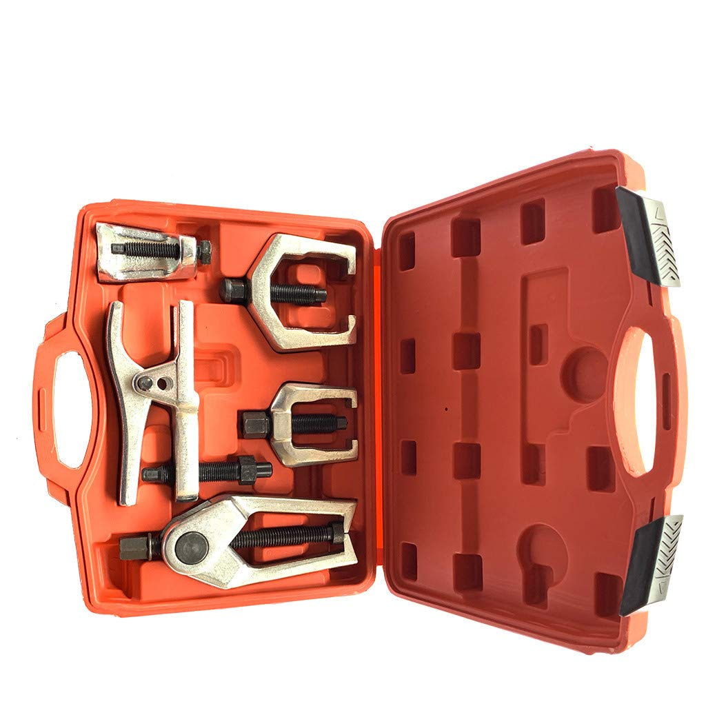 TOOLS GOO HOLD HIGH 5pc Pitman Arm Puller & Ball Joint Separator Tie Rod Front End Service Tool