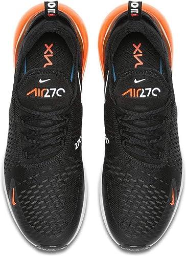 air max 270 negras y naranjas