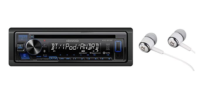 Kenwood KDC-BT23 Single DIN Bluetooth CD/AM/FM USB Auxiliary Input on