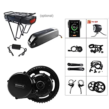 BAFANG 48V 750W BBS02B E-Bike Conversion Motor Kit DIY Electric Bike Kit  with Battery and Charger