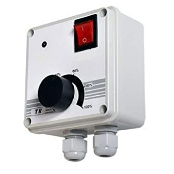 Regulador de velocidad industrial, 400 W, control de velocidad ...