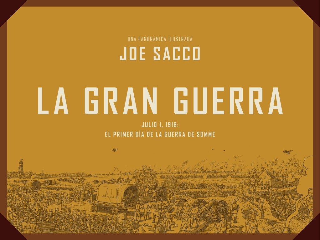 La Gran Guerra (Reservoir Gráfica): Amazon.es: Sacco, Joe, Marc Viaplana Canudas;: Libros