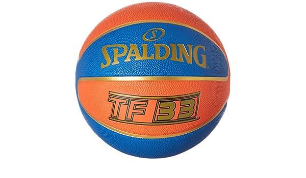 Spalding TF33 Outdoor 83-489Z Balón de Baloncesto, Unisex, Naranja ...