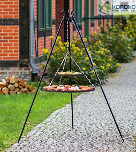 korono parrilla estructura estable de telescópico 180 cm & 2 ...