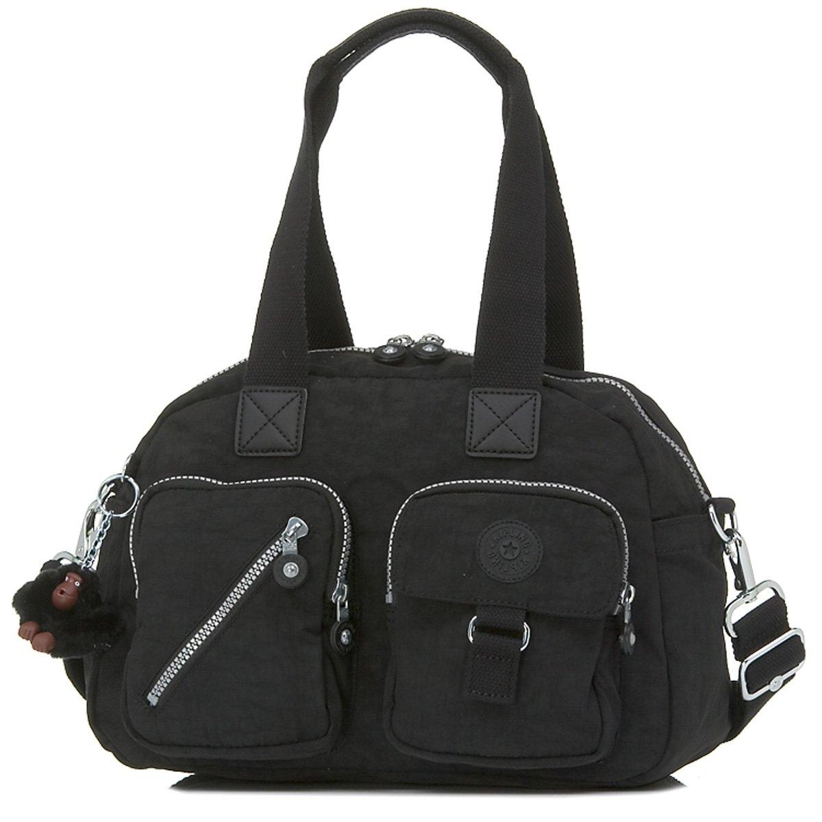 Kipling Luggage Defea Handbag with Shoulder Strap, Black, One Size by Kipling