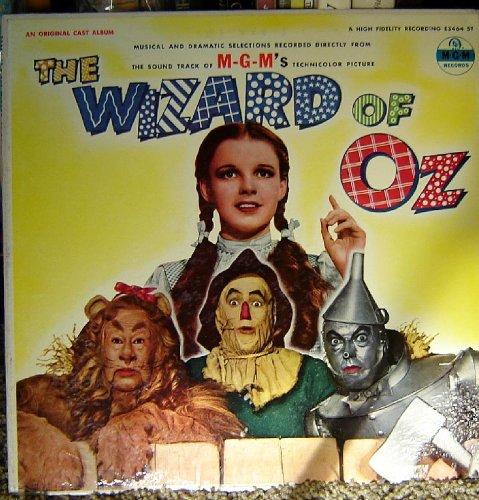 The Wizard of Oz LP Original Cast ()