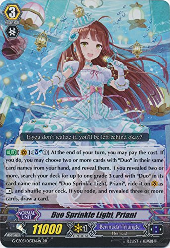 Duo Sprinkle Light, Priani - G-CB05/013EN-W - RR - G Clan Booster 5: Prismatic Divas