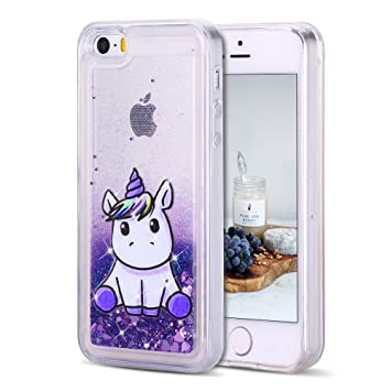 coque iphone 5 silicone violet
