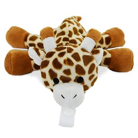 Amazon.com: KINREX Jirafa Peluche Animal Bebé Chupete ...