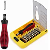 Precision Screwdriver Set, Apsung 37 in 1 Professional Screwdriver Set Multi-function Repair Tool Kit Compatible with iPhone/ipad/Android/Computer/Laptop/Computer/PC etc