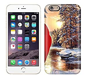 Case Cover Protector For iphone 6 plusd 5.5 Santa Claus And Nature Case