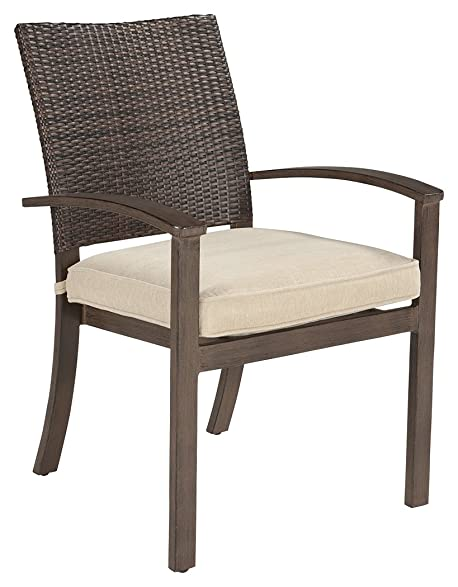 Signature Design By Ashley P457 601A Moresdale Dining Chair, 25u0026quot; X  27u0026quot;