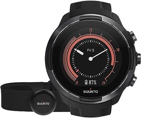 Suunto 9 Baro Reloj Multideporte GPS con cinturón de frecuencia ...