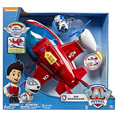 Paw Patrol, Lights and Sounds Air Patroller Plane by Spin Master