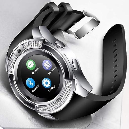Men Women Smart Watch Wristwatch Support with Camera Bluetooth SIM ...
