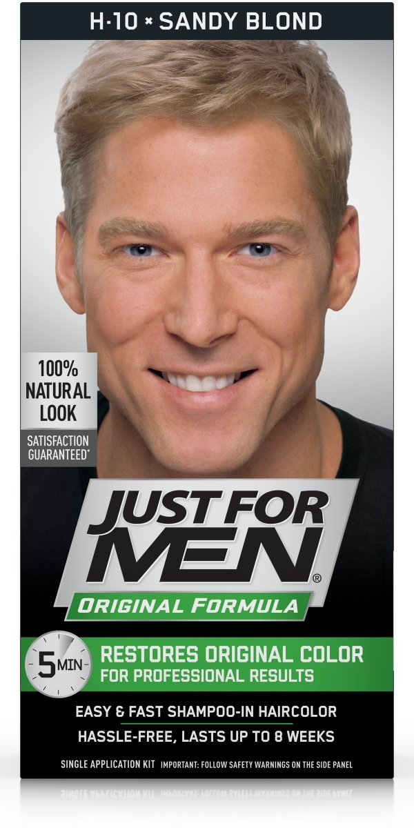 Just For Men Original Formula Sandy Blonde Review