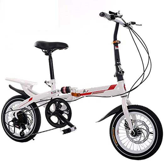 Bicicleta Plegable, Bicicleta De Carretera Velocidad Doble Freno ...