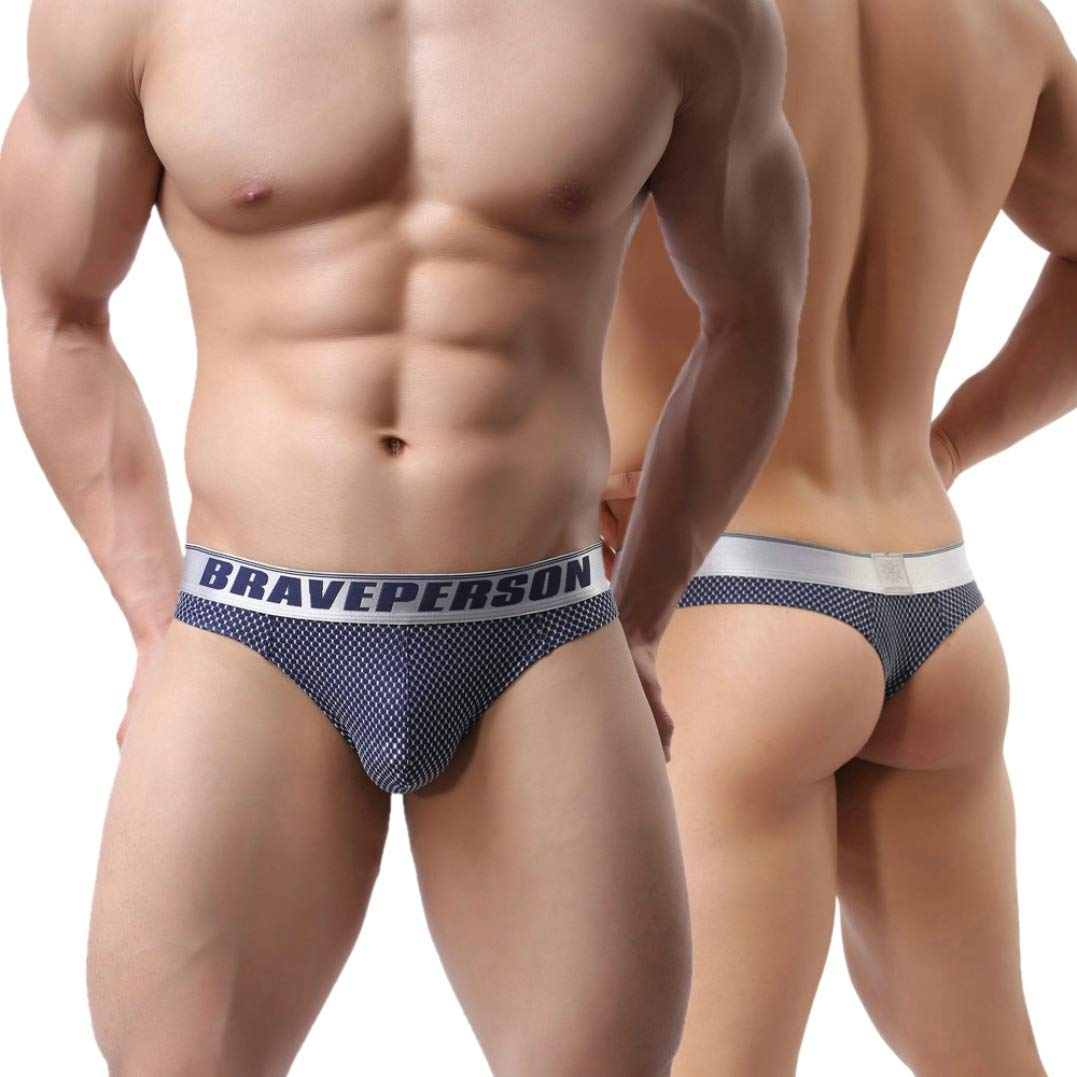 e6c9e4a22368 Galleon - MuscleMate Mode Men's Thong Underwear, Men's Thong G-String  Undie, No Visible Lines,Top Quality.