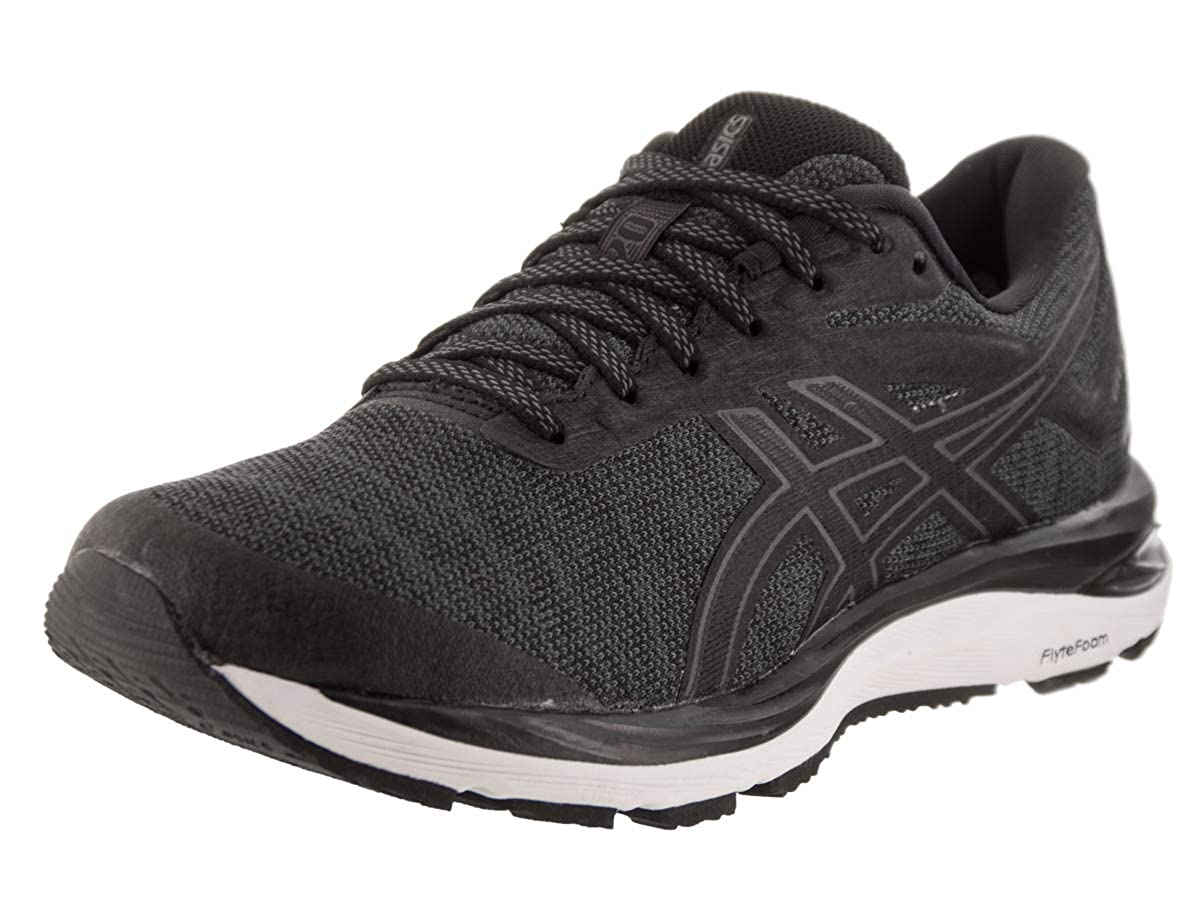 Black Dark Grey ASICS Men's Gel-Cumulus 20 Running shoes 1011A008