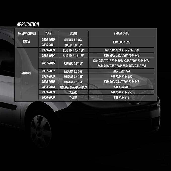 Juego de herramientas para encendido de motor Renault coche K4J/K4 M F4P/F4R gasolina y motores diesel: Amazon.es: Coche y moto