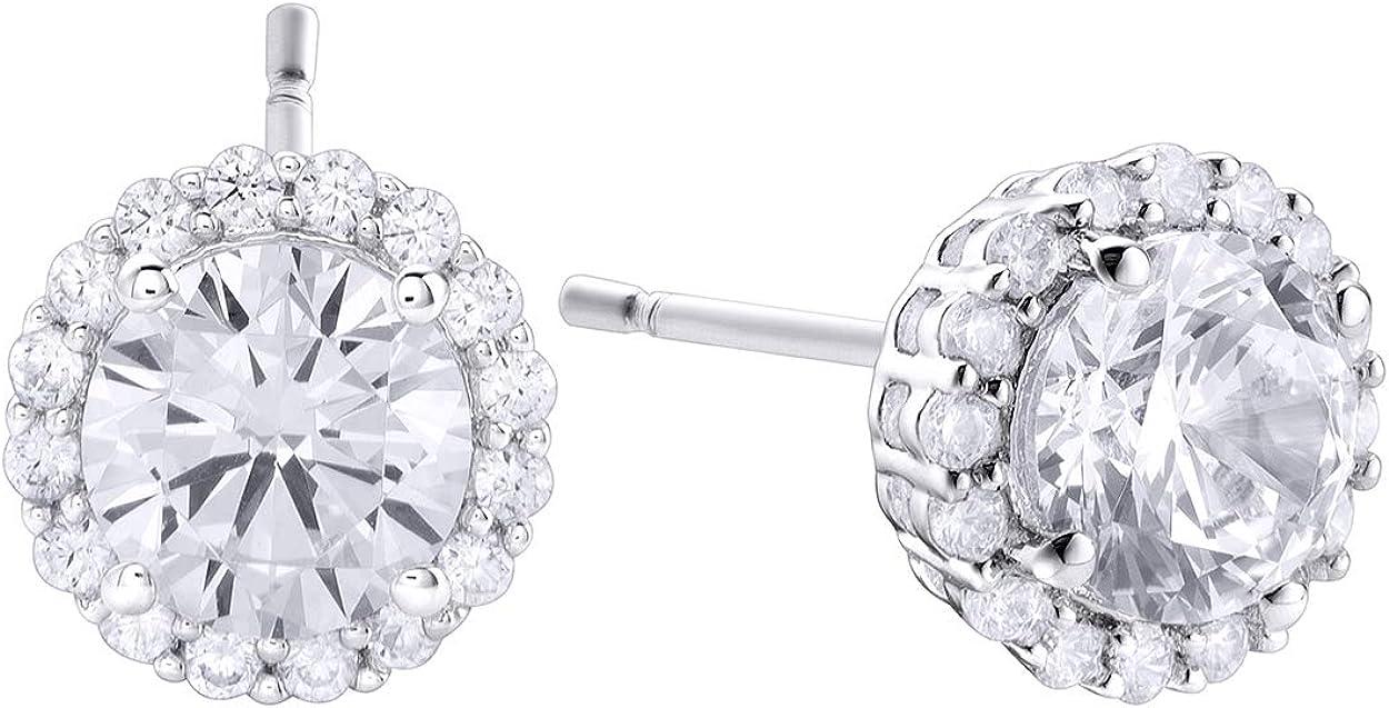 Pendientes de Durán Exquse de la colección Pretty Jewels realizada en plata 925 detalle en circonita