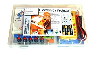Deepak Enterprise Electronics Workbench Project Kit With 50 Projects And 120 Parts
