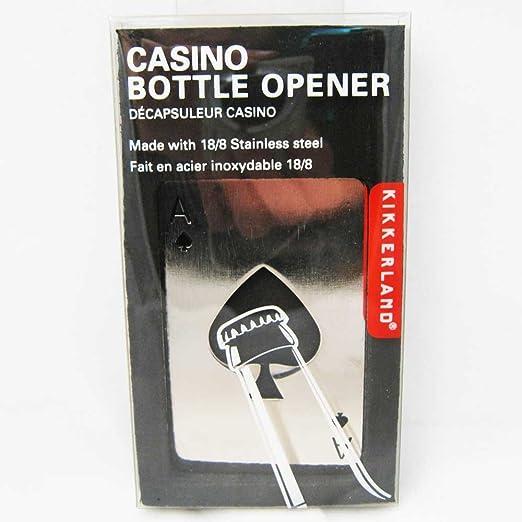 Black Kikkerland coin Bottle Opener Keychain