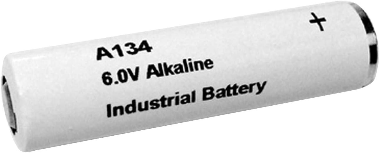 Exell Battery A134 6-Volt Alkaline Battery (White)