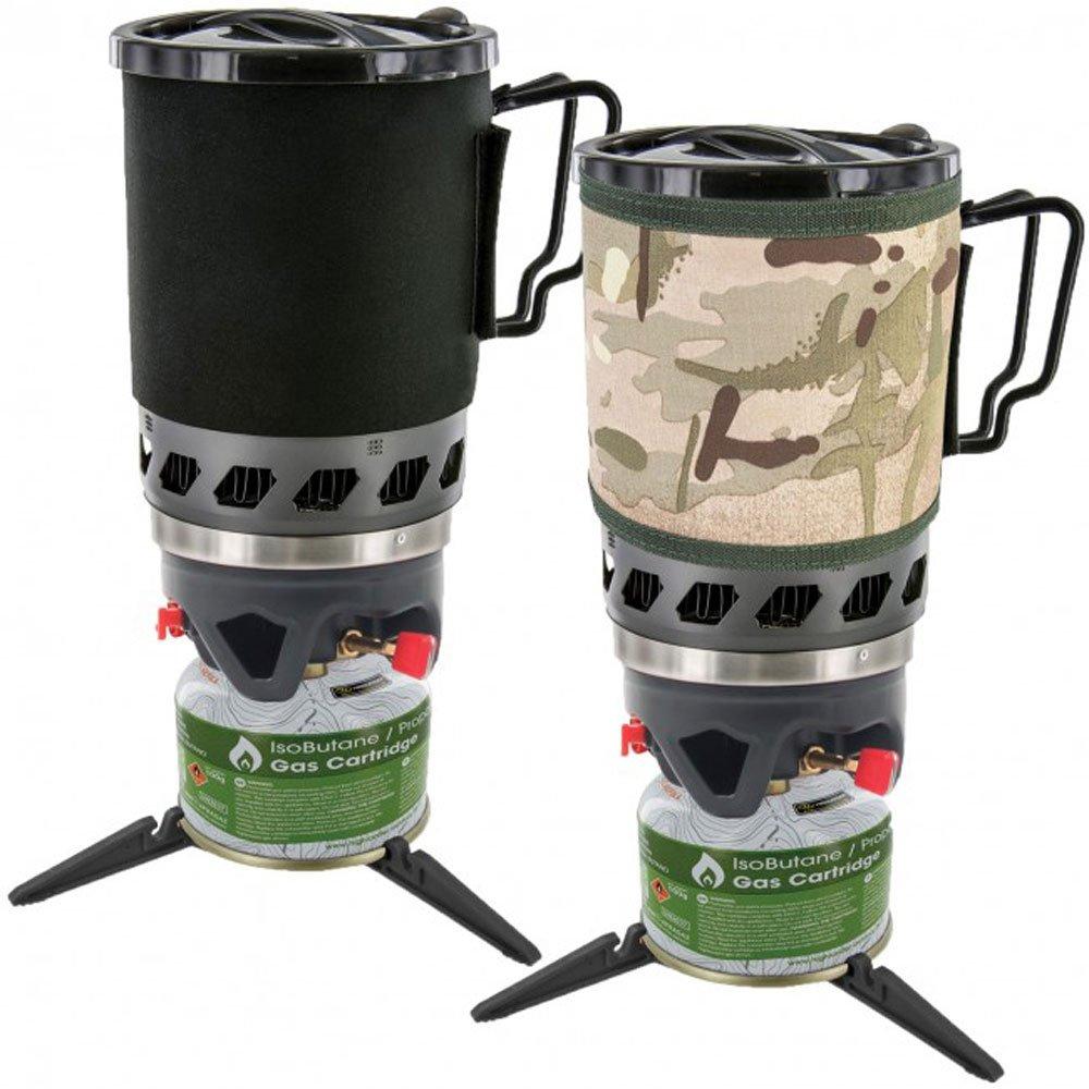 Highlander Outdoor Produkte Klinge fastboil 2 Army Military Gas Camping Gasbrenner Tasse Set 1,1 l