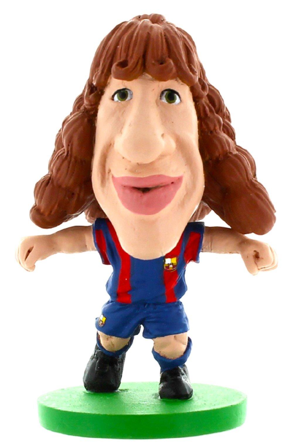 SoccerStarz Barca Toon Carles Puyol Home Kit
