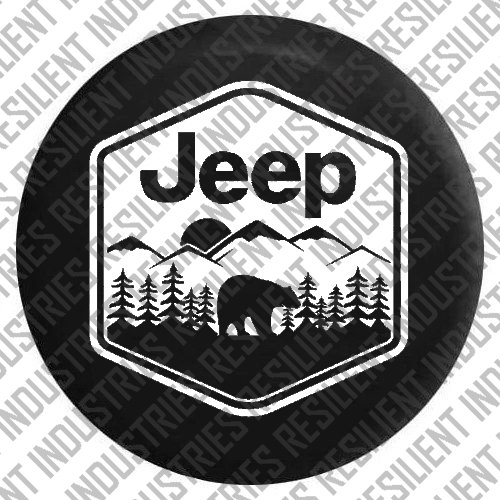 jeep tire cover 07 - 2