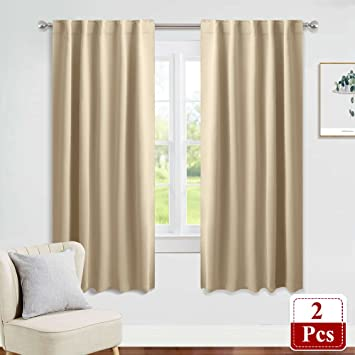 Genial PONY DANCE Window Treatments Curtains   Room Darkening Heavy Duty Light  Block Curtain Drapes Soft