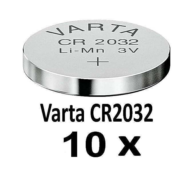 10-1000 STK. (10 Stück) Variante frei wählbar Varta 2032 Knopfzelle im NEMT Pack