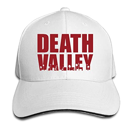 Amazon.com   ACMIRAN Death Valley Adjustable Sandwich Baseball Caps ... 1defcd230748