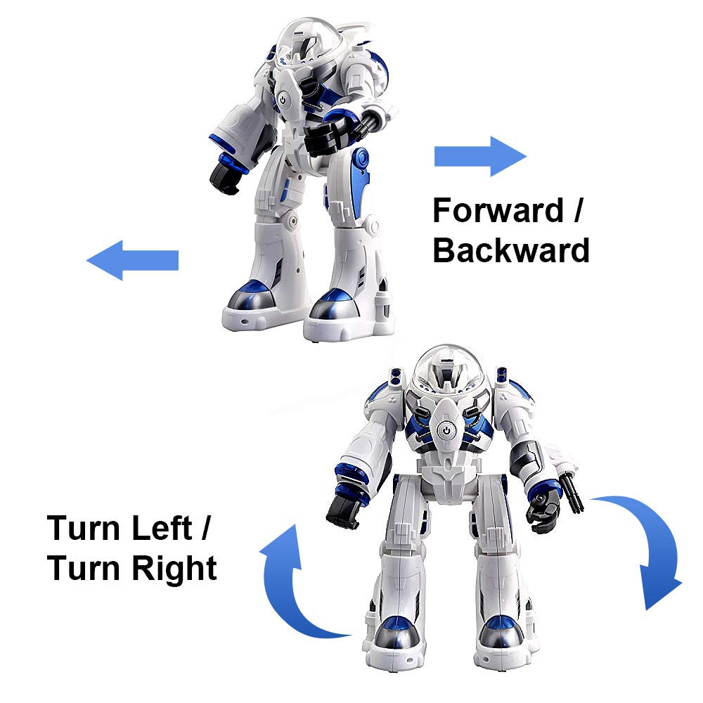 KINGBOT Robot Toy,Spaceman RC Robot Remote Control Robots Toys with Programmable Interactive Walking Singing Dancing for Kids Boys Girls Gifts by KINGBOT (Image #2)