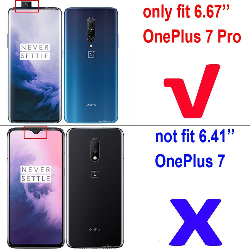 Amazon com: J&H OnePlus 7 Pro Case, OnePlus 7 Pro Stand Case